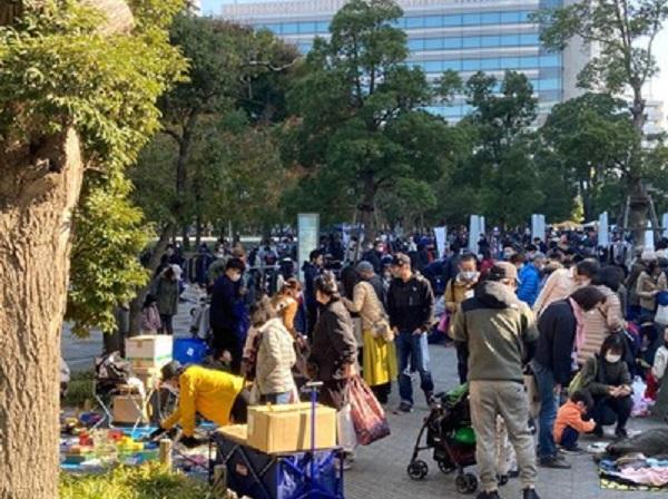 (c)中野セントラルパーク MOTTAINAIフリーマーケット